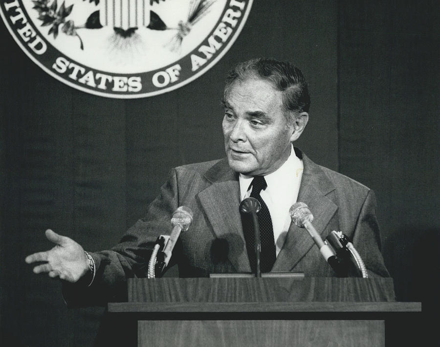 Retro Photograph - Secretary Haig Holds Press Conference by Retro Images Archive