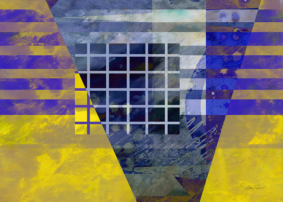 Abstract Digital Art - Secrets - Abstract Art by Ann Powell