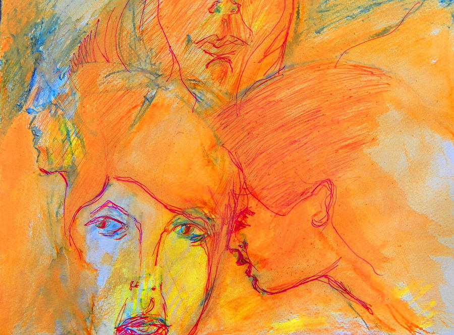 Expressive Painting - Secrets by Judith Redman