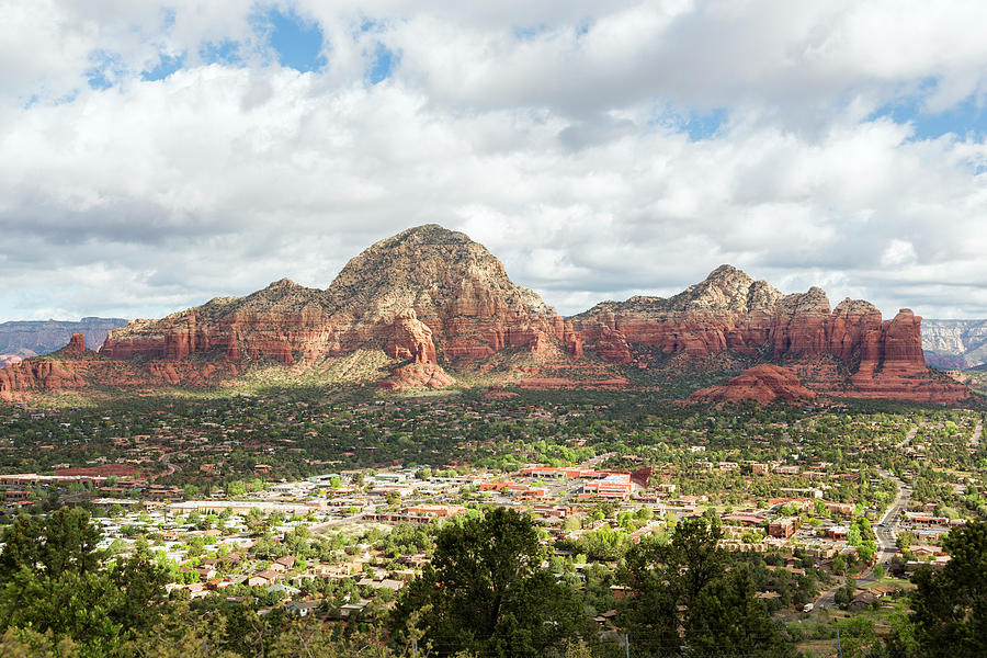 Sedona, Arizona, From Above Photograph by Picturelake