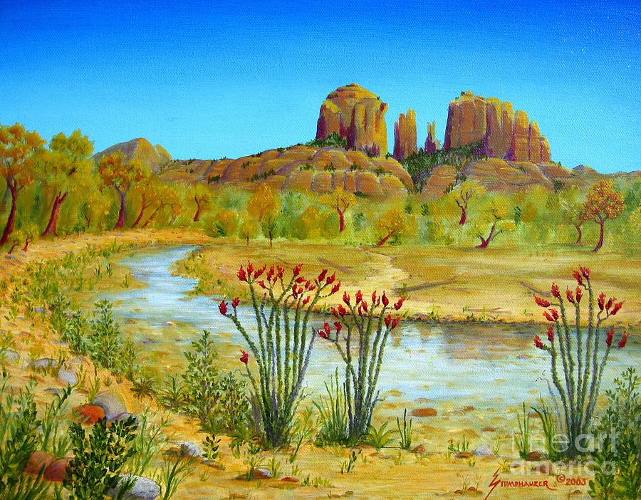 Sedona Painting - Sedona Arizona by Jerome Stumphauzer