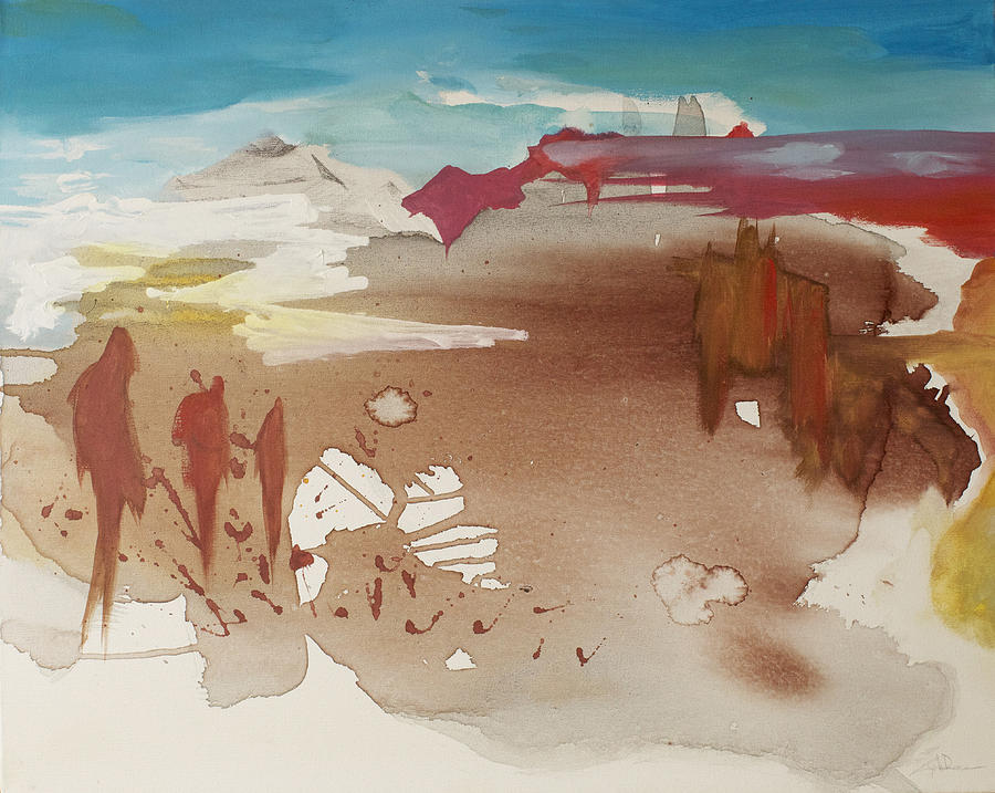 Sedona Painting - Sedona Arizona by Joseph Demaree