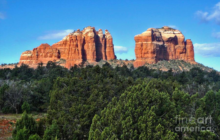 Sedona Arizona Photograph - Sedona Arizona Mountains - 04 by Gregory Dyer