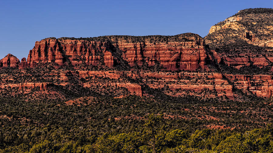 Sedona Fortress Photograph