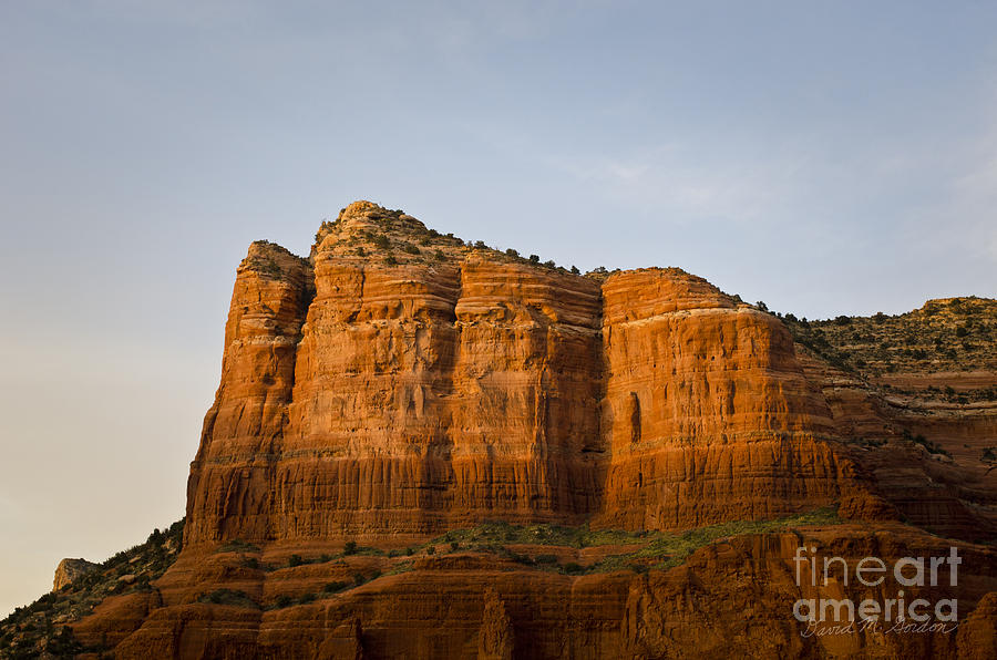 Sedona Photograph - Sedona Landscape Viii by Dave Gordon