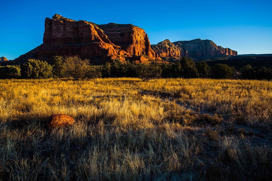 Sedona Photograph - Sedona Light by Bill Cantey