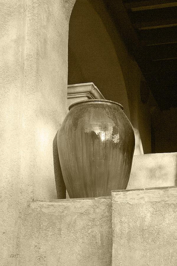 Architecture Photograph - Sedona Series - Jug In Sepia by Ben and Raisa Gertsberg