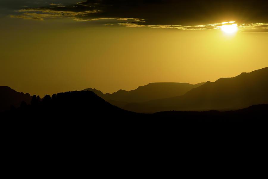 Sedona Photograph - Sedona Sunset by Christian Capucci