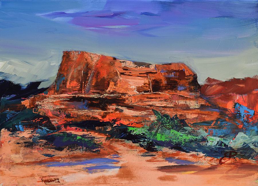 Arizona Painting - Sedonas Heart by Elise Palmigiani