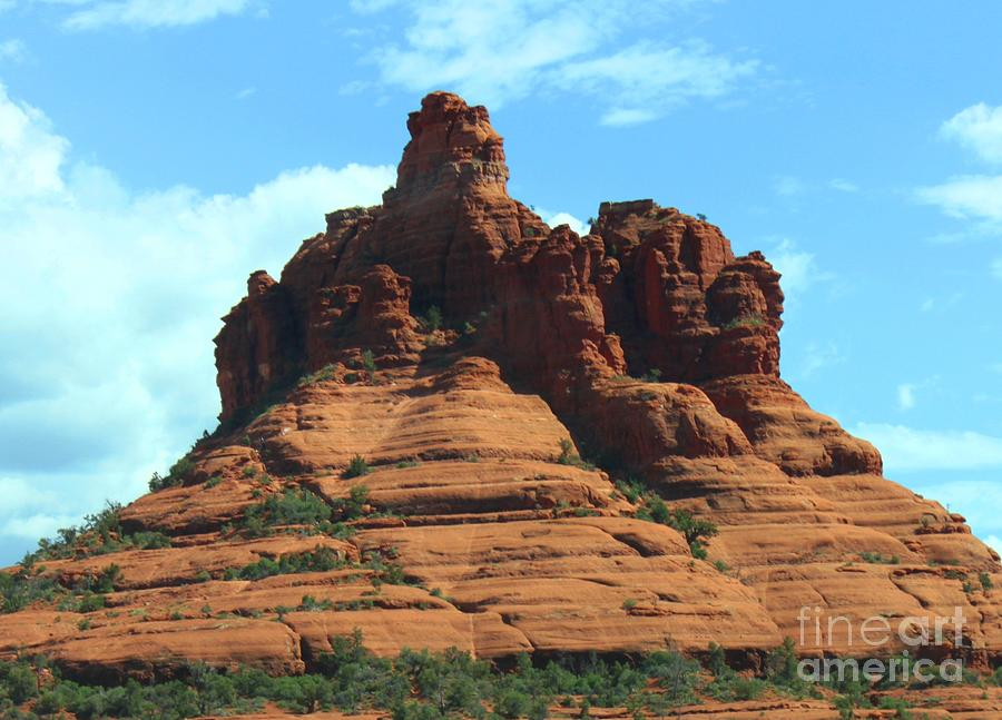 Sedona Photograph - Sedonas Red Rock by French Toast
