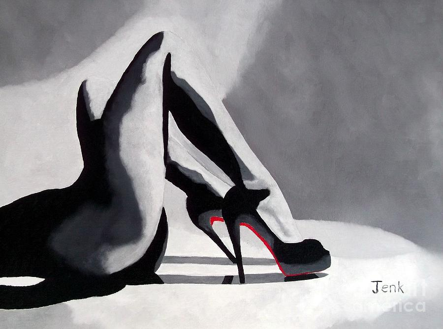 Fashion Paintings Painting - Seduction by My Inspiration