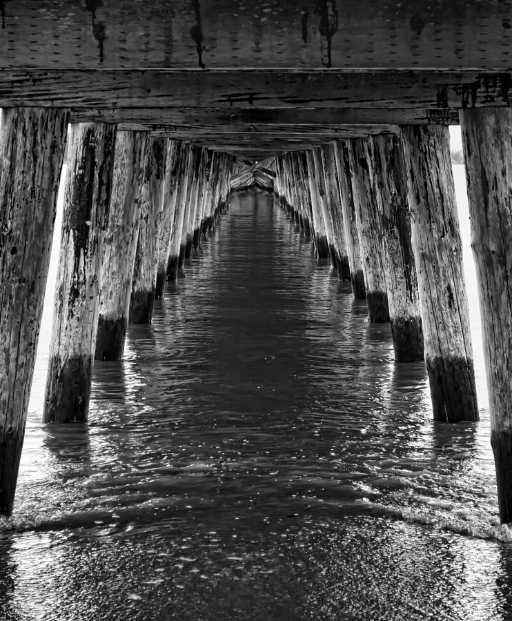 Pier Photograph - See Forever From Here by Heather Applegate