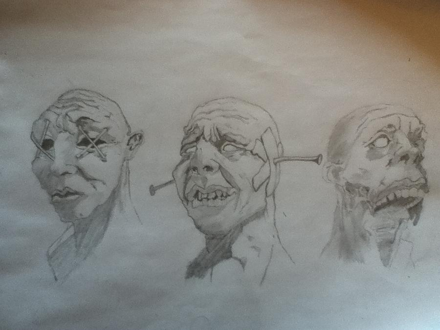 see no evil hear no evil speak no evil drawing by jacob myjak