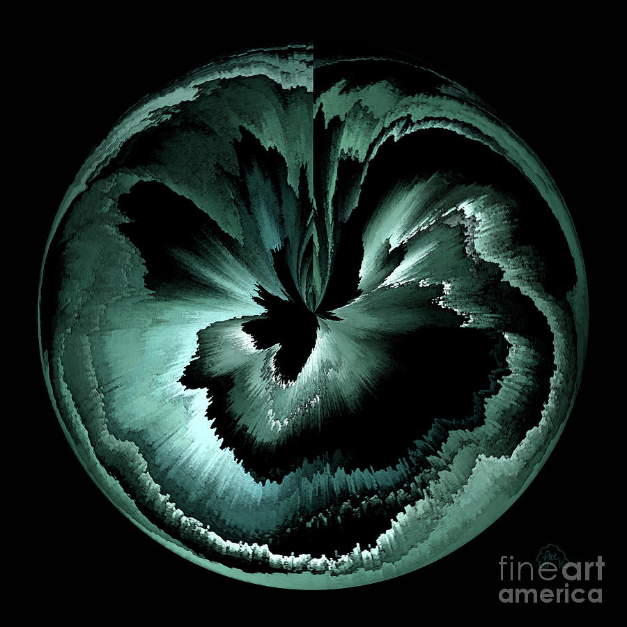 Abstract Digital Art - Seed Of A Gentle Soul by Patricia Kay