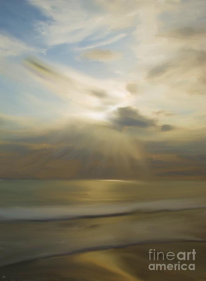 Landscape Painting - Seek And You Shall Find by Liane Wright
