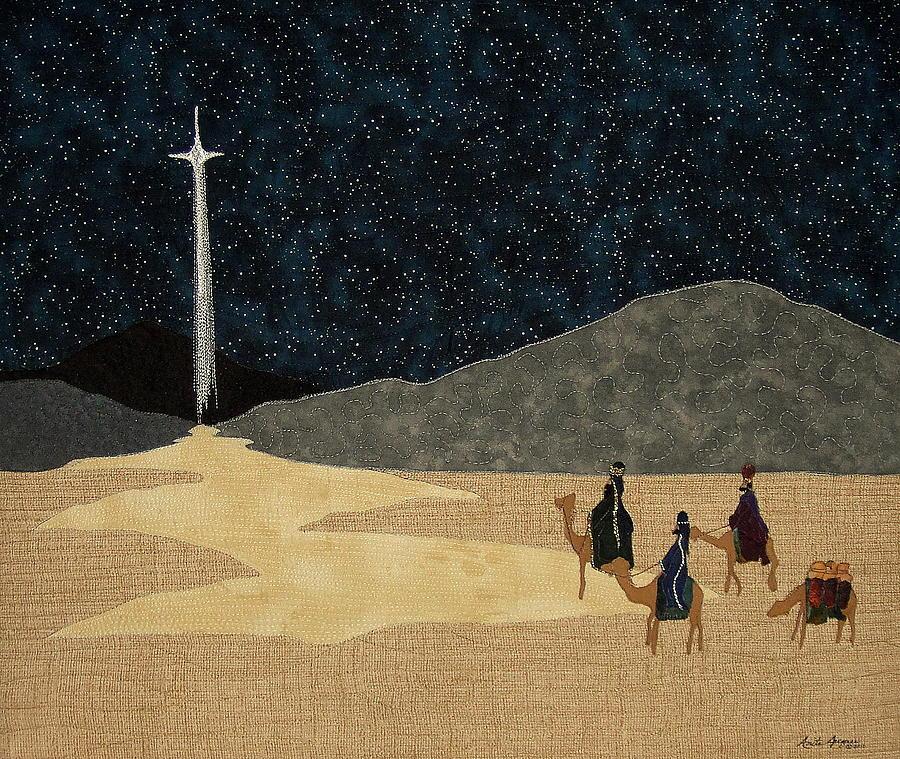 Wisemen Painting - Seeking Him by Anita Jacques