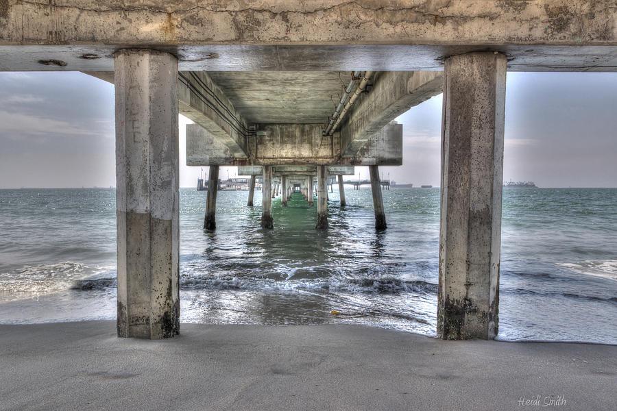 Beach Photograph - Seeking Shelter From The Sun by Heidi Smith