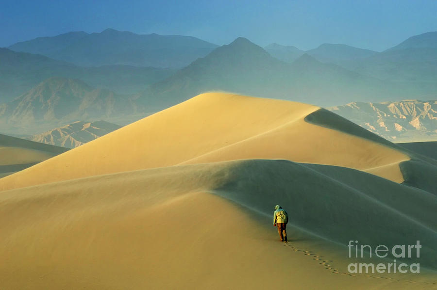 Death Valley Photograph - Seeking Solitude  by Bob Christopher