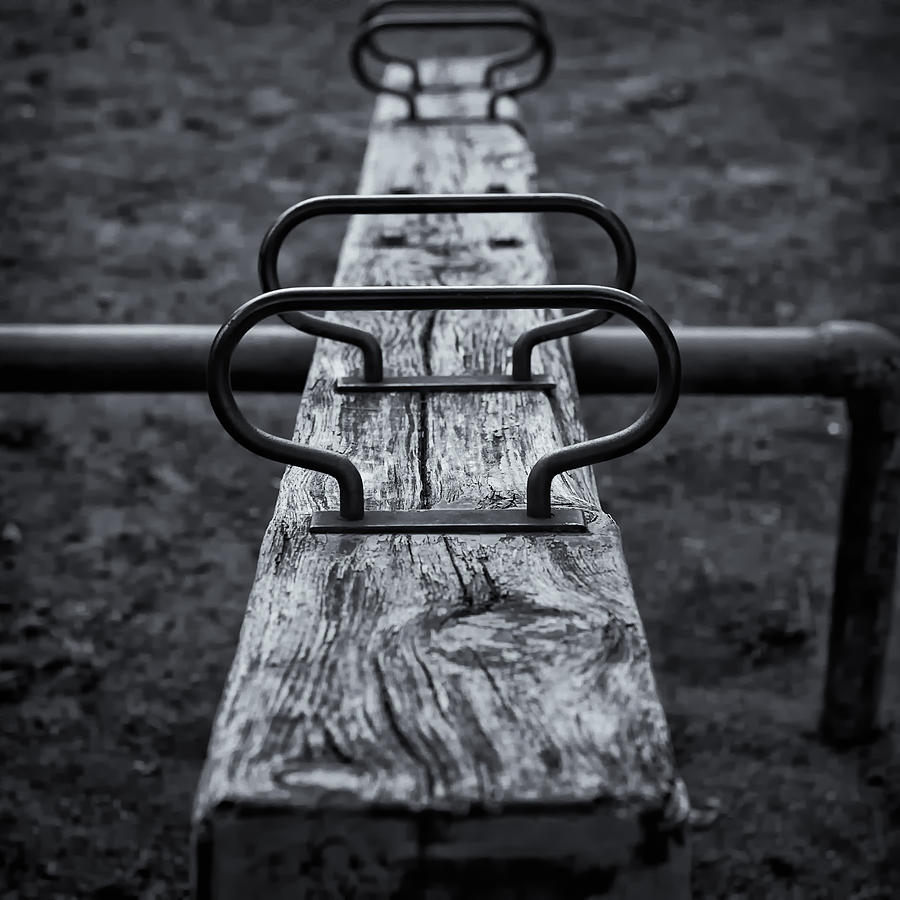 Japan Photograph - Seesaw by Rscpics