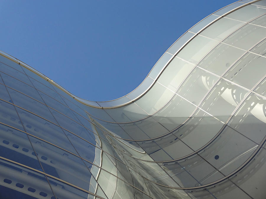 Architecture Photograph - Segerstrom Center by Eileen Shahbazian
