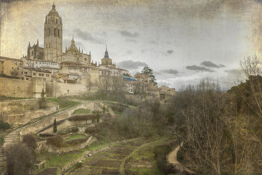 Aerial Photograph - Segovia View by Joan Carroll
