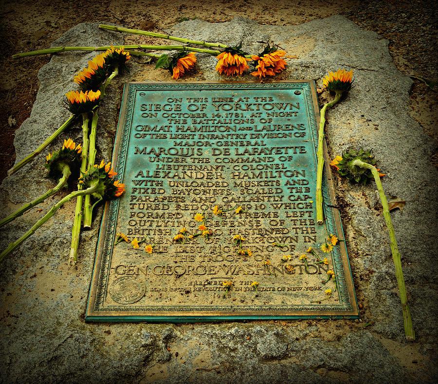 Seige Of Yorktown Memorial Photograph