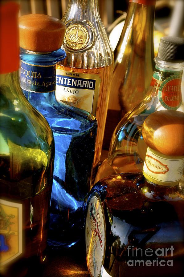Tequila Photograph - Seleccion De Tequilas by Kristine Celorio