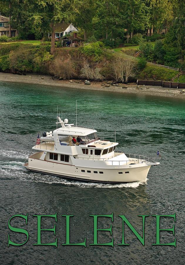 Selene 49 Foot Yacht Photograph