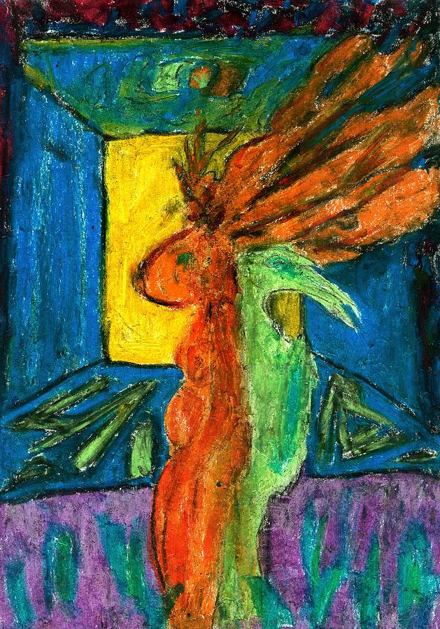 Self-knowledge Pastel by Yuri Lushnichenko