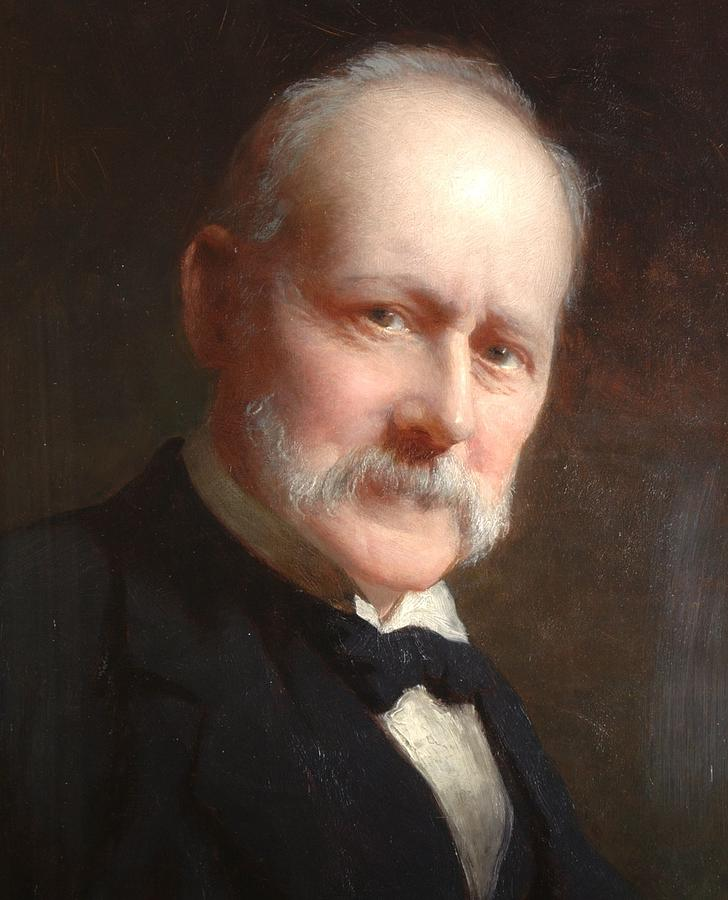 Male Painting - Self Portrait, 1899 by George Elgar Hicks