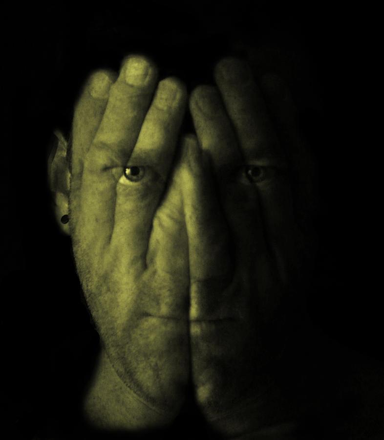 Dark Photograph - Self Portrait by Gary Neal