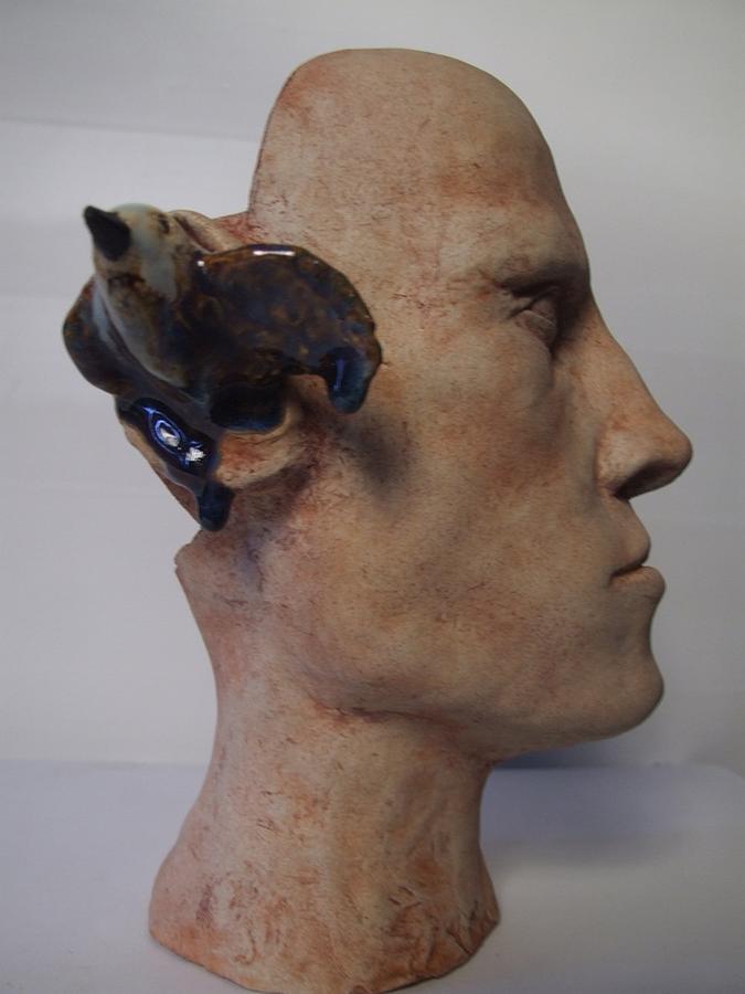Self Portrait Sculpture - Self Portrait by James Kemp