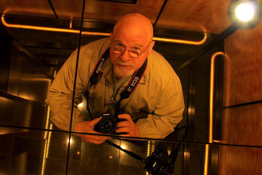 Hotel Photograph - Self Portrait by Reid Callaway