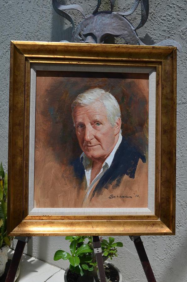Self Portrait Painting - Self Portrait by Robert Berran