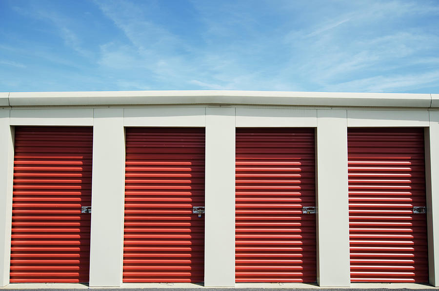 Self-storage Units Photograph by Nine Ok
