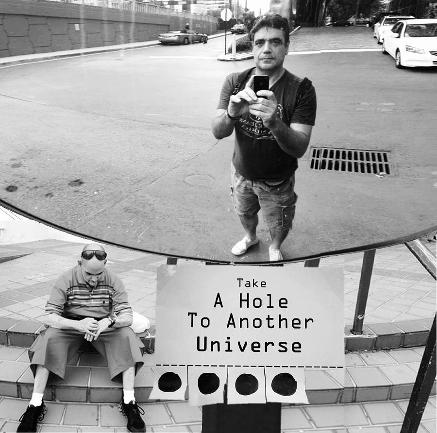 Universe Photograph - Selfie by Emil Bodourov