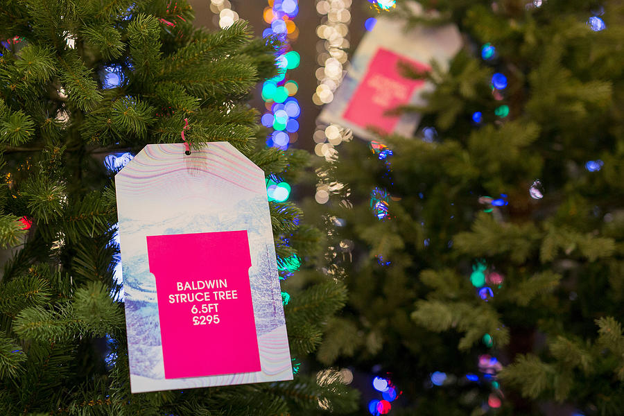 f360e158aaee Hanging Photograph - Selfridges Plc Opens Its Christmas Retail Store by  Bloomberg