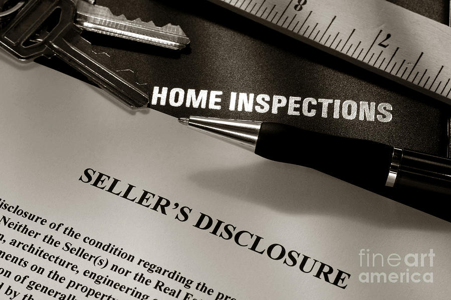 Home Photograph - Seller Disclosure by Olivier Le Queinec