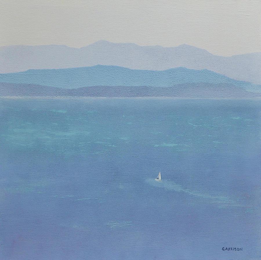 Landscape Painting - Semiahmoo Bliss by Marina Garrison