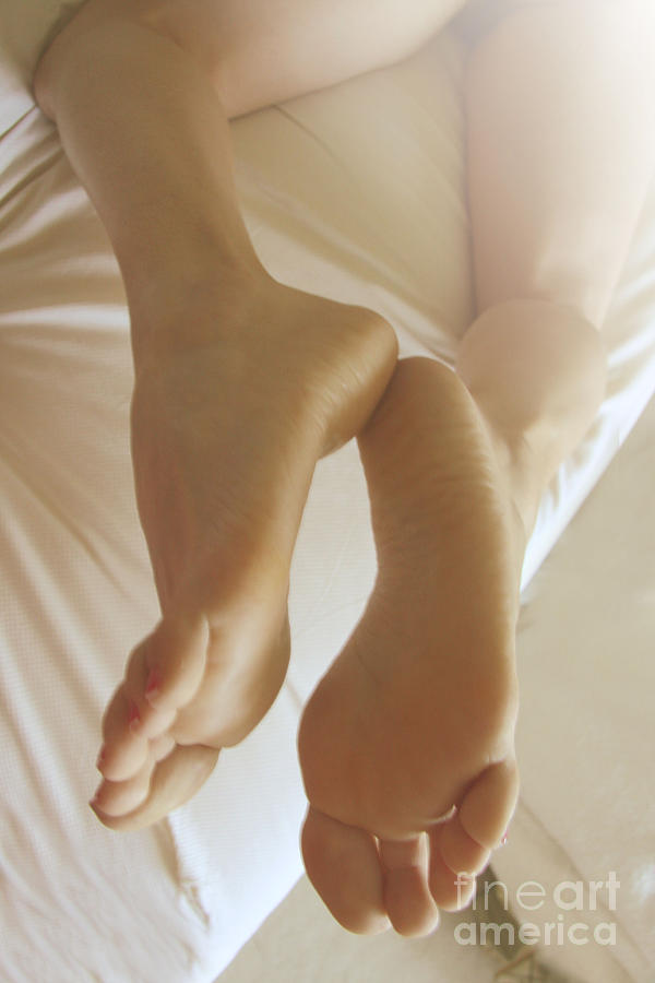 Feet Photograph - Sensual Feet by Tos