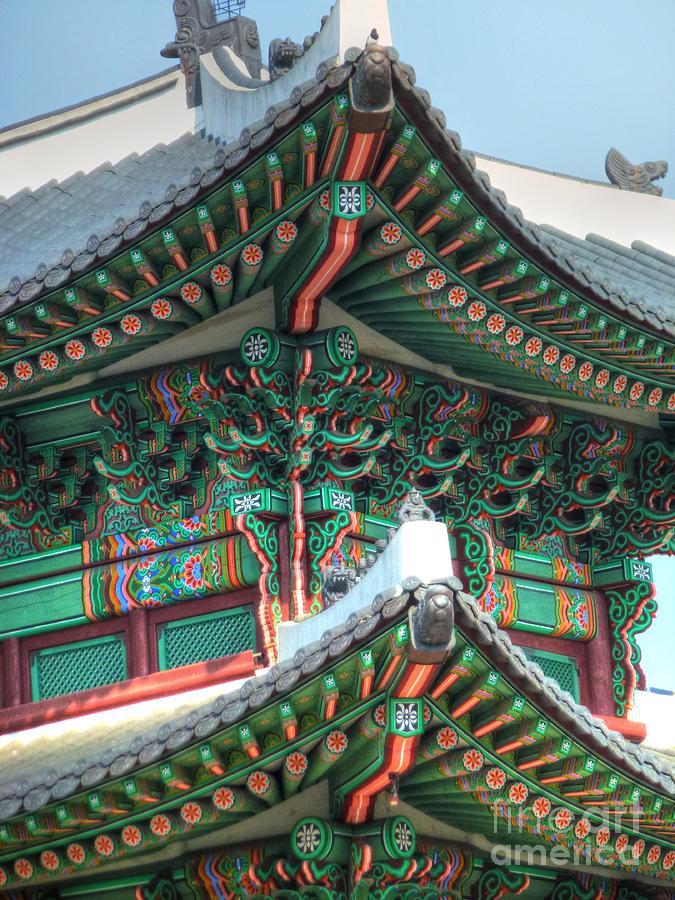 Seoul Photograph - Seoul Palace by Michael Garyet