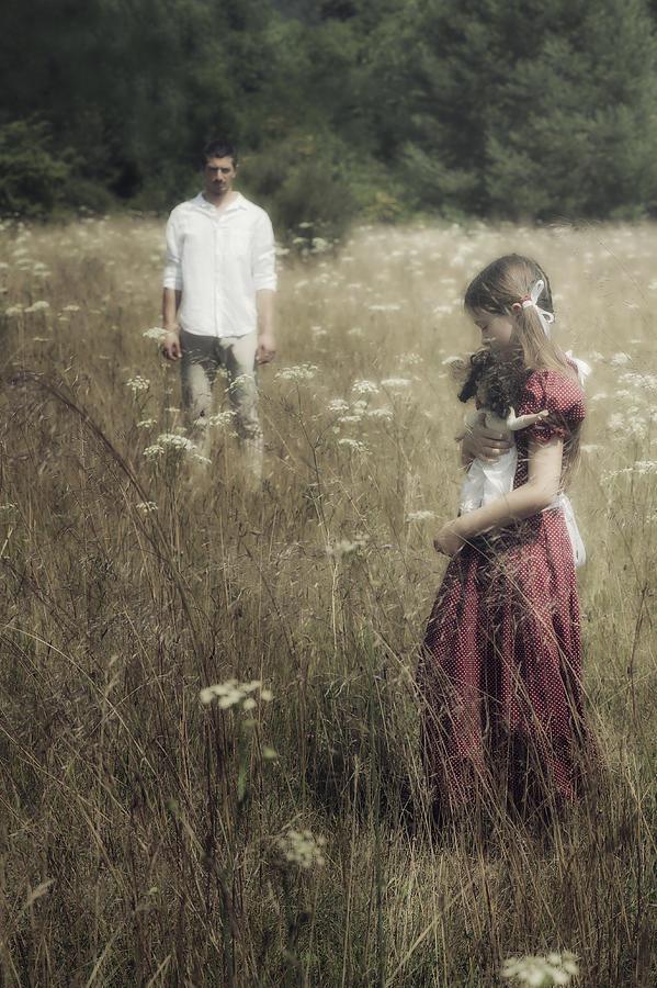 Girl Photograph - Seperation by Joana Kruse