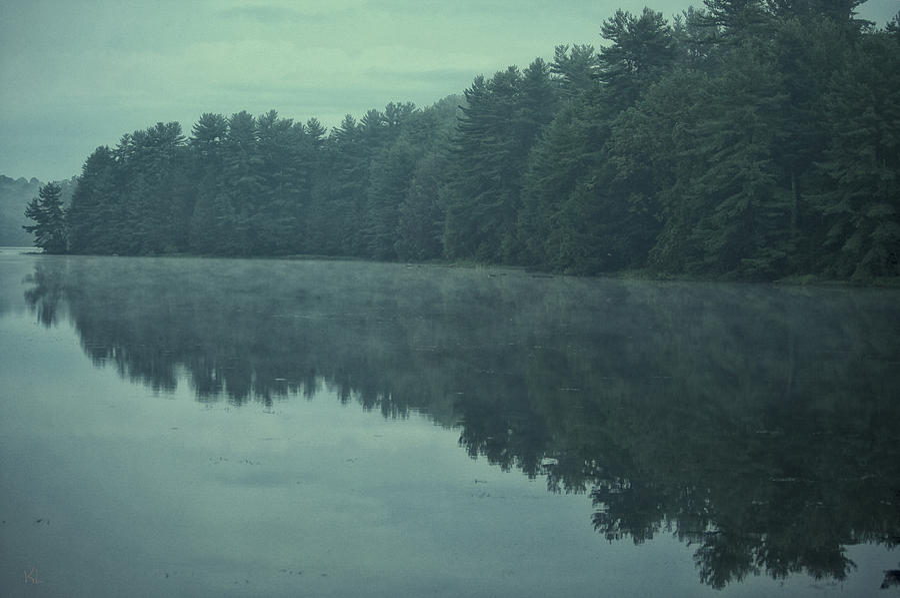 Landscape Photograph - September Reflection by Karol Livote