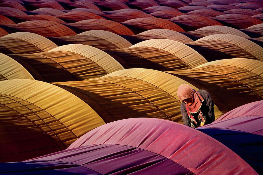Tent Photograph - Sera by Leyla Emektar La_