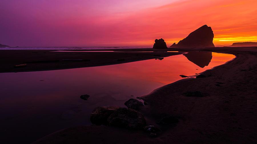 Oregon Photograph - Serenade Flow by Chad Dutson
