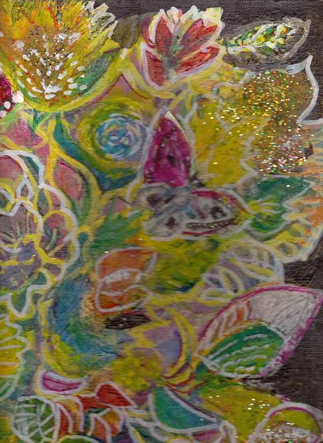 Serendipity Painting - Serendipity Comes To Life by Anne-Elizabeth Whiteway