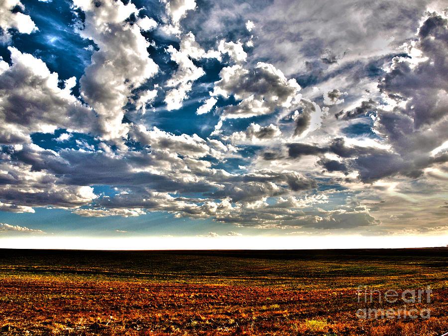 Skies Digital Art - Serene Skies by Christian Jansen