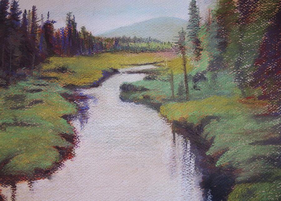 Adirondacks Painting - Serenity by Chrissey Dittus