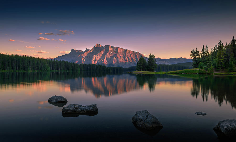 Canada Photograph - Serenity by David D