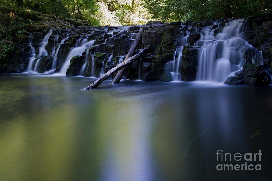 Waterfalls Photograph - Serenity Falls by Jackie Follett